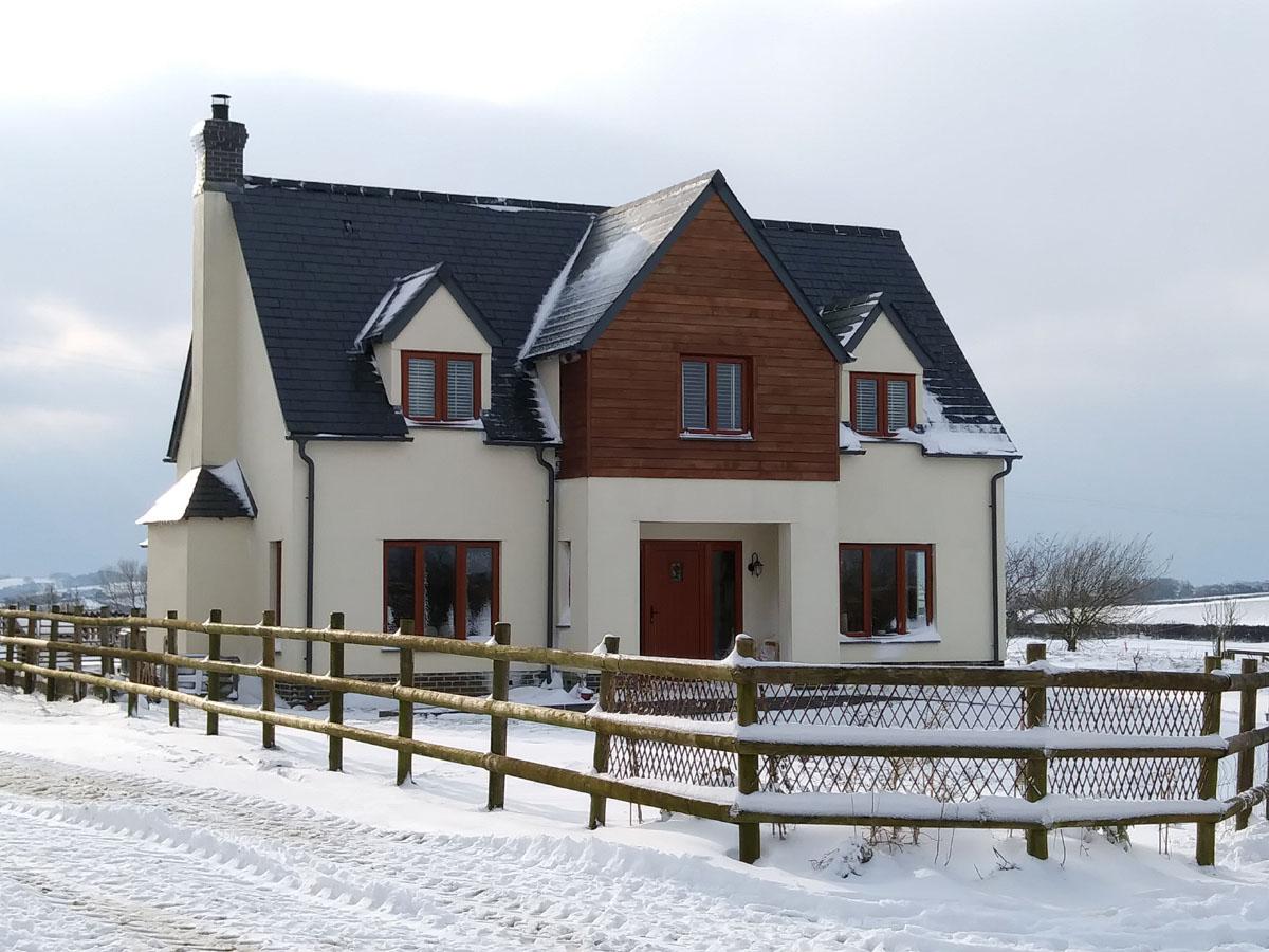 Markstone Farm Winter scene - markstonefarm.co.uk